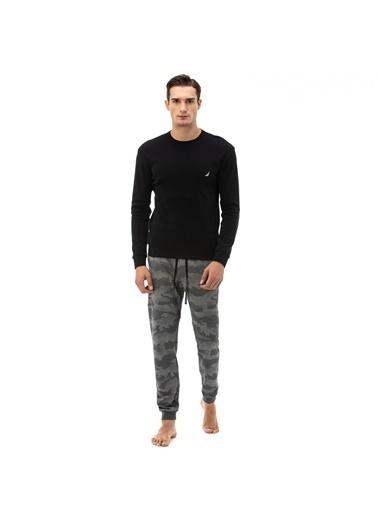 Nautica Pijama Takım Siyah